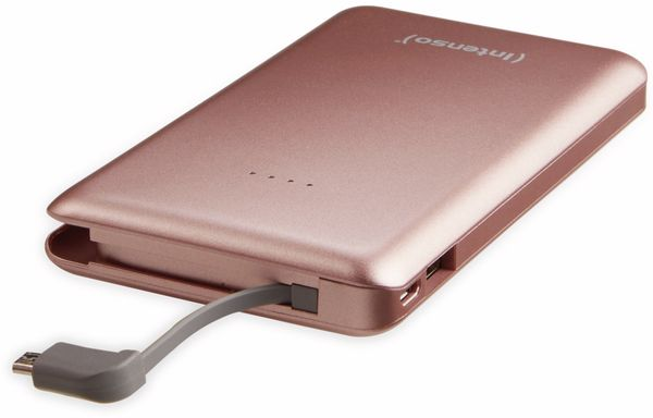 USB Powerbank INTENSO 7332533 S10000, 10.000 mAh, rosè - Produktbild 3