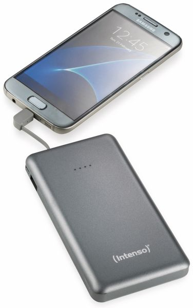 USB Powerbank INTENSO 7332534 S10000, 10.000 mAh, grau - Produktbild 4