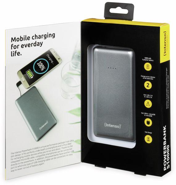 USB Powerbank INTENSO 7332534 S10000, 10.000 mAh, grau - Produktbild 6