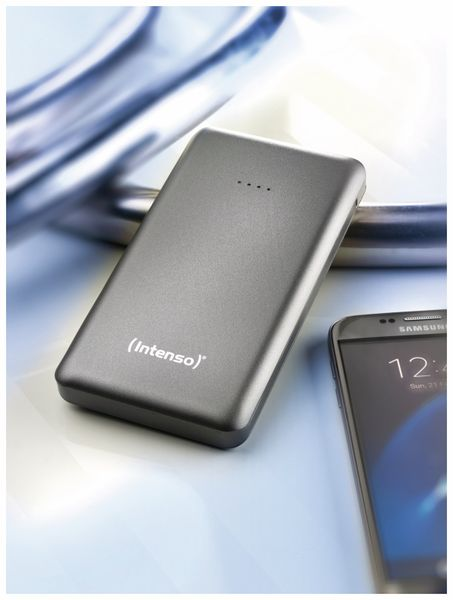 USB Powerbank INTENSO 7332534 S10000, 10.000 mAh, grau - Produktbild 8