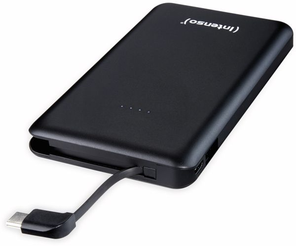 USB Powerbank INTENSO 7332630 S10000-C, 10.000 mAh, schwarz - Produktbild 3