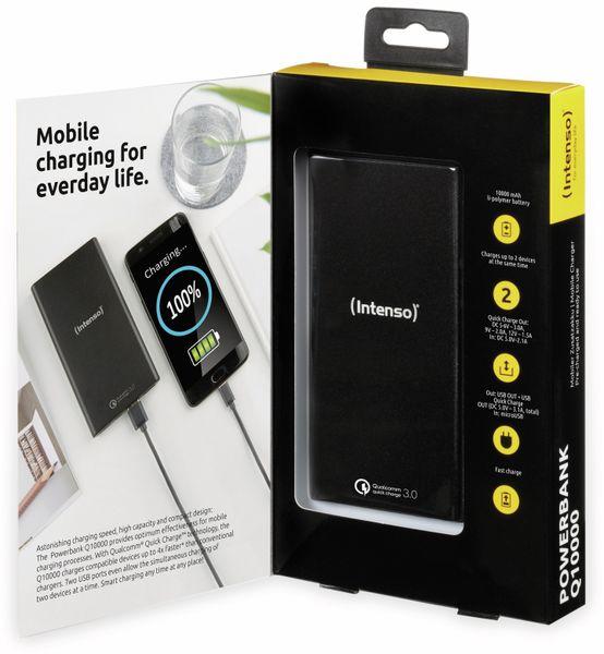 USB Powerbank INTENSO 7334530 Q10000, 10.000 mAh, schwarz - Produktbild 6