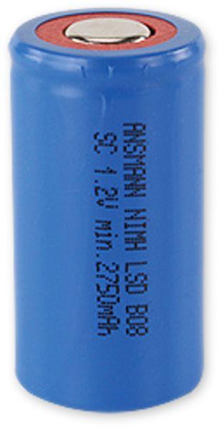 NiMH-Sub-C-Zelle-Akku ANSMANN maxE, 2850 mAh, 1,2 V-