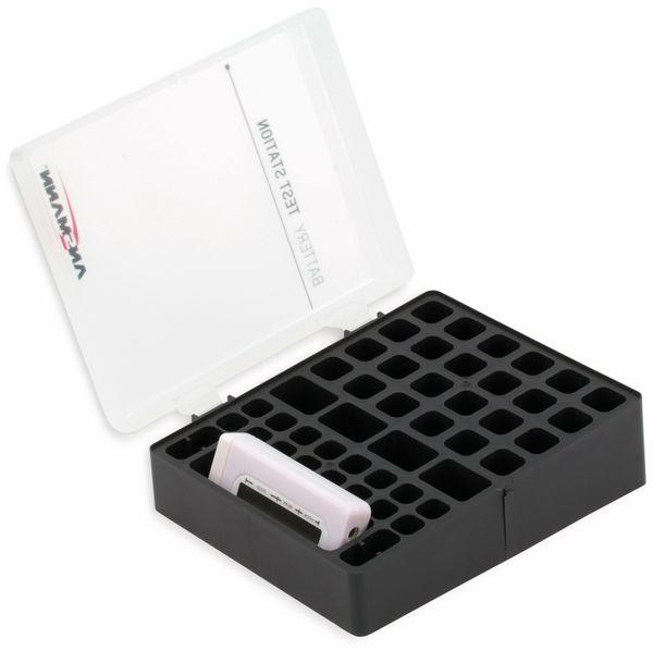 Batteriebox ANSMANN mit Batterie-Tester
