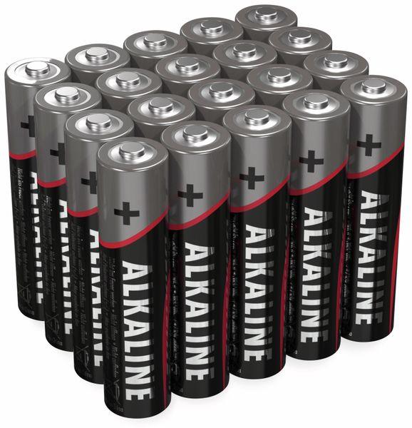 Micro-Batterie-Set ANSMANN, Alkaline, 20 Stück in einer Box, 1,5 V-