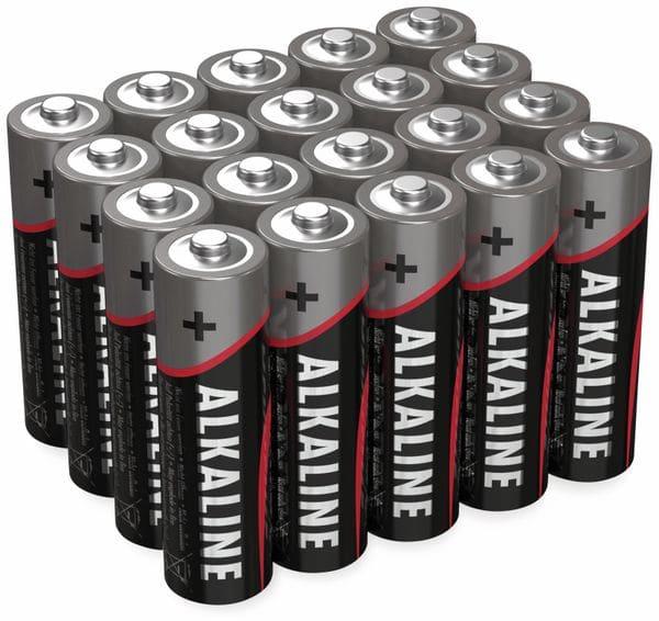 Mignon-Batterie-Set ANSMANN, Alkaline, 20 Stück in einer Box, 1,5 V-