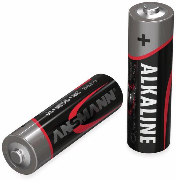 Mignon-Batterie-Set ANSMANN, Alkaline, 20 Stück in einer Box, 1,5 V- - Produktbild 3