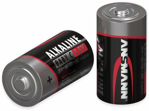 Baby-Batterie ANSMANN, Alkaline, C / LR14, 1,5 V-, 4 Stück - Produktbild 2