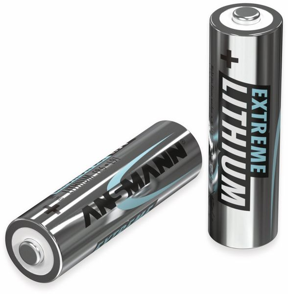 Mignon-Batterie ANSMANN Lithium, AA, 1,5 V-, 8 Stück - Produktbild 3