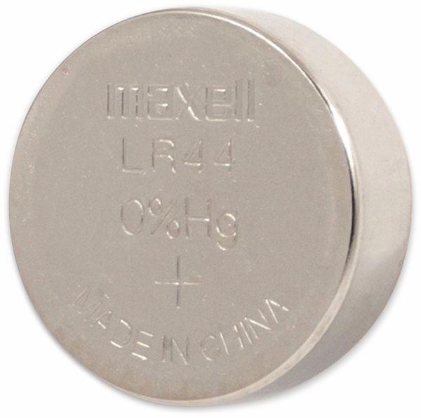 Knopfzelle MAXELL, LR44/AG13, 10 Stück - Produktbild 2