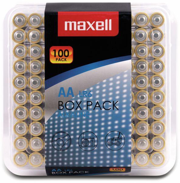 Mignon-Batterie MAXELL, Alkaline, AA, LR6, 100er Box