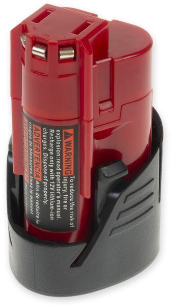 Werkzeugakku XCELL für Milwaukee, 12 V-, 2,5 Ah, Li-Ion, M12A, C12B