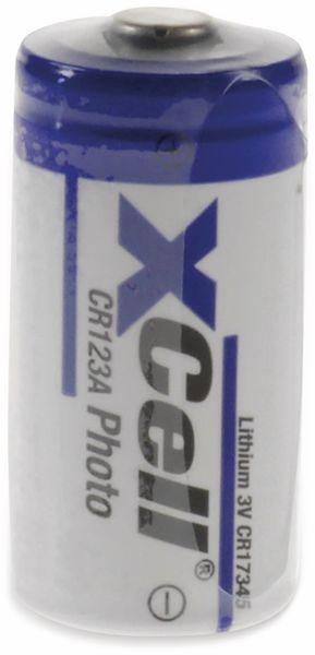 Lithium-Fotobatterie XCELL CR123A bulk, 3 V-, 1550 mAh - Produktbild 2