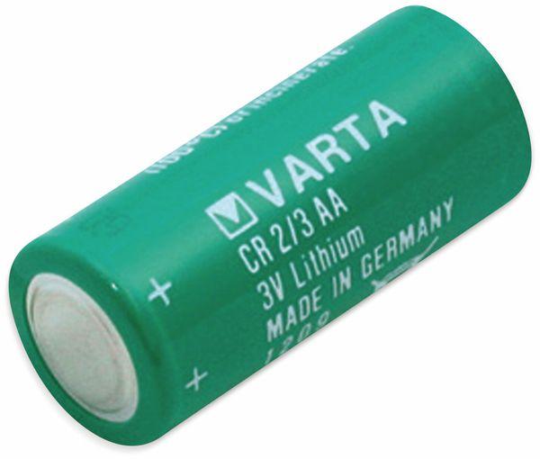 Lithium-Batterie VARTA CR 2/3AA, 3 V-, 1350 mAh