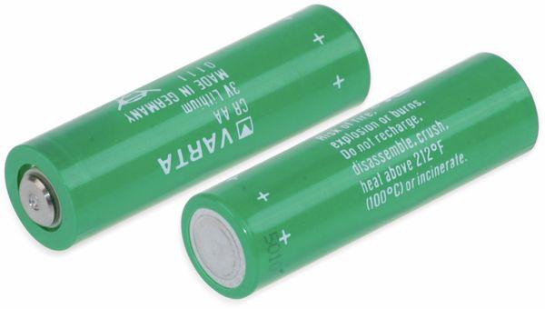 Lithium-Batterie VARTA CR AA, 3 V-, 2000 mAh