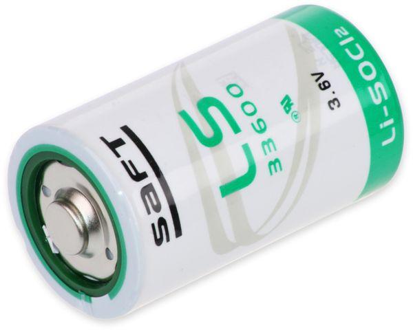 Lithium-Batterie SAFT LS 33600, D (Mono), 3,6 V-, 17000 mAh