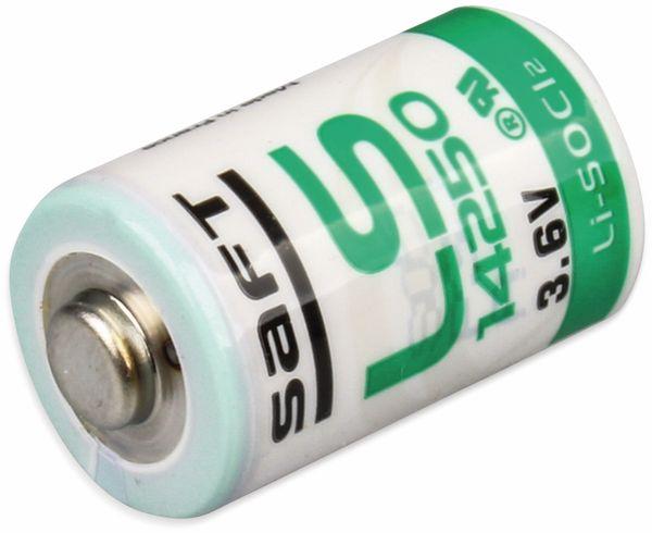 Lithium-Batterie SAFT LS 14250, 1/2 AA (Mignon), 3,6 V-, 1200 mAh - Produktbild 2