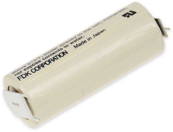 Lithium-Batterie FDK CR 17450SE-FT1, A, Print 2/1 ++/-, 3 V-, 2500 mAh