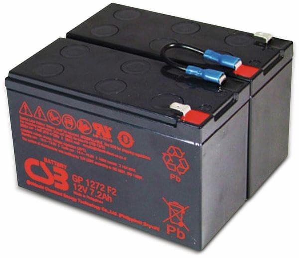 Blei-Akkumulator, 24 V-, 7,2 Ah, geeignet für APC RBC5