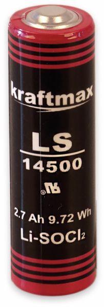 Lithium-Batterie KRAFTMAX LS14500, AA-Zelle, 3,6 V-, 2700 mAh