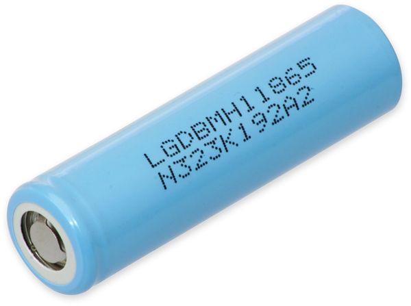 Lithium-Akku LG INR18650 MH1, 3,7 V,- 3200 mAh
