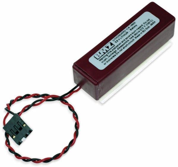 Lithium-Batterie SAFT 1LS145000, AA, Lithoguard, mit Kabel u. Stecker, 3,6 V-