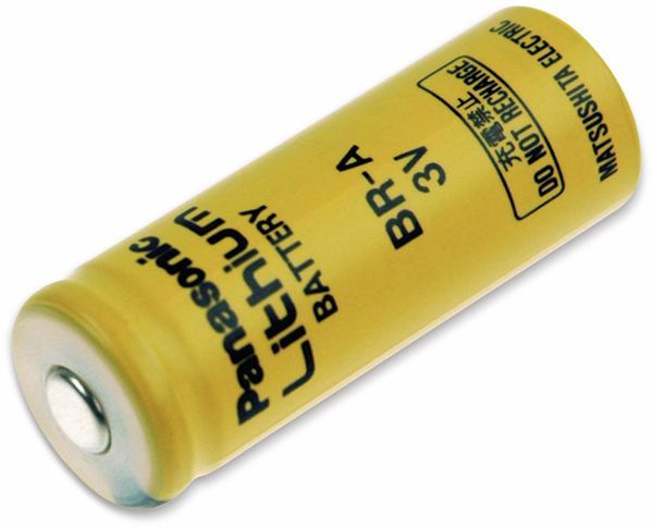 Lithium-Batterie PANASONIC BR-A, 3 V-, 1800 mAh