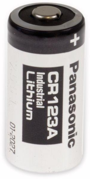 Lithium-Fotobatterie PANASONIC CR123A, 3 V-, 1400 mAh
