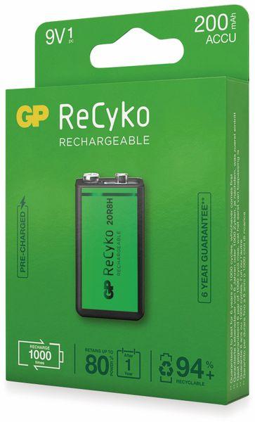 NiMH-9V-Block-Akku GP ReCyko+, 200 mAh - Produktbild 3