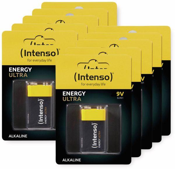 10er-Set 9V-Blockbatterie INTENSO Energy Ultra, 6LR61, E-Block - Produktbild 2