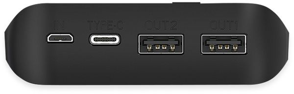 USB Powerbank LOGILINK PA0251, 20.000 mAh, mit Qi-Aufladefunktion - Produktbild 4