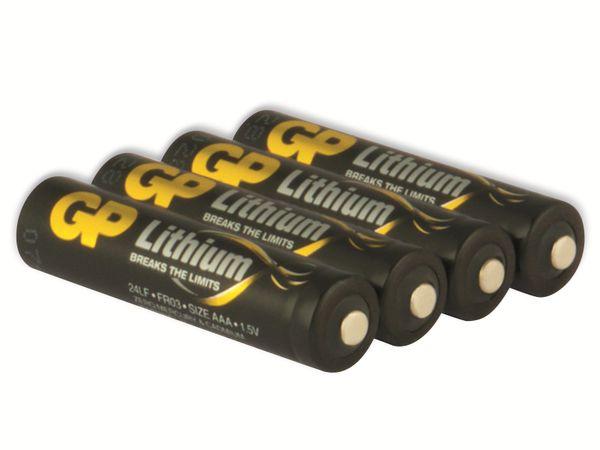 Micro-Batterie GP EXCELLENT Lithium, 4 Stück