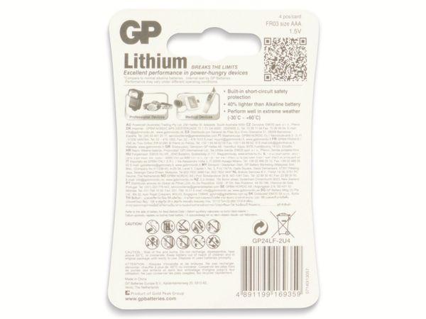 Micro-Batterie GP EXCELLENT Lithium, 4 Stück - Produktbild 9