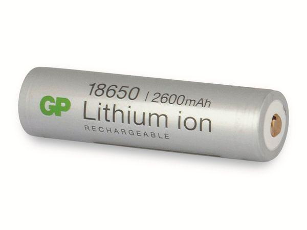 LiIon-Akku GP 14018650B1, 3,7V, 2,6 Ah - Produktbild 3