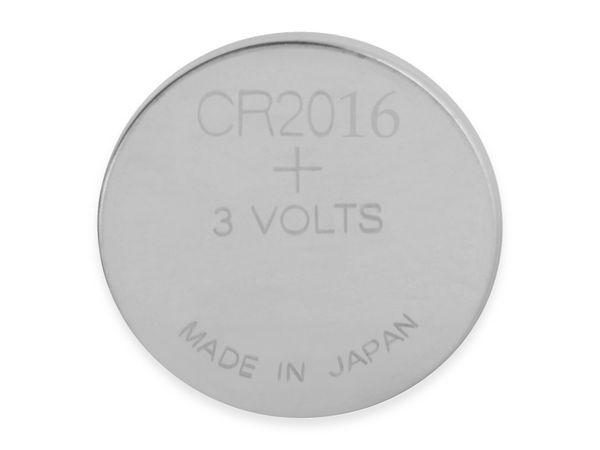 Knopfzelle, GP, CR2016, Lithium, 3 V, 2 St. - Produktbild 3