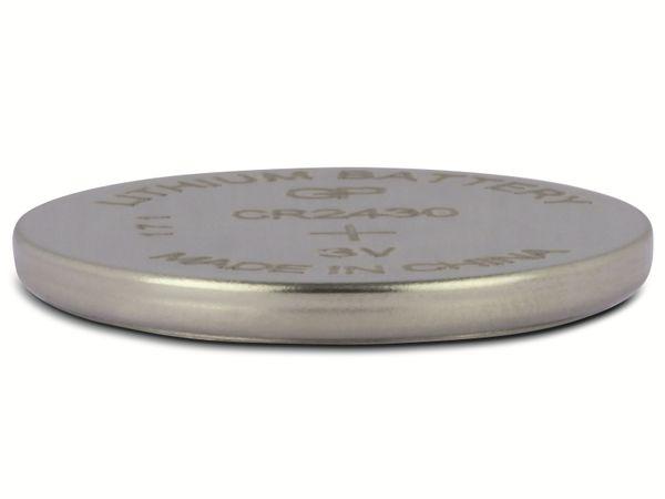 Knopfzelle, GP, CR2430, Lithium, 3 V, 2 St. - Produktbild 3