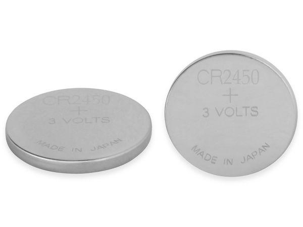 Knopfzelle, GP, CR2450, Lithium, 3 V, 2 St.