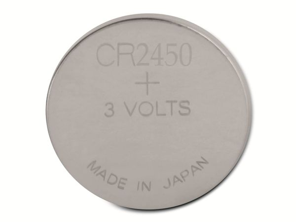 Knopfzelle, GP, CR2450, Lithium, 3 V, 2 St. - Produktbild 3