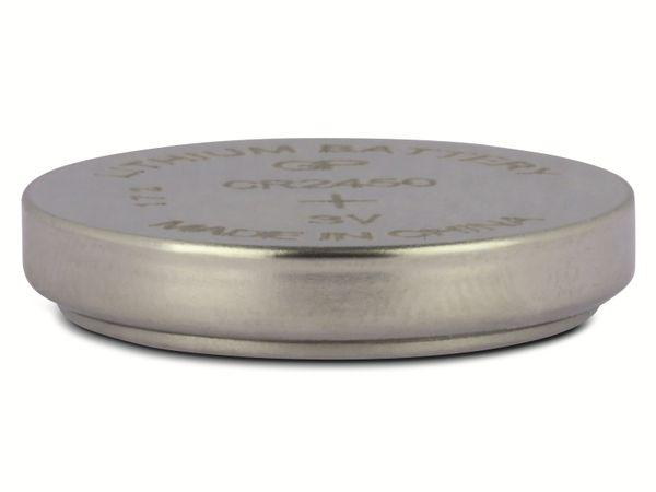 Knopfzelle, GP, CR2450, Lithium, 3 V, 2 St. - Produktbild 4