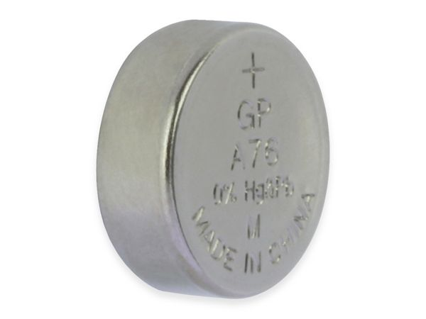 Knopfzelle GP LR44, Alkaline, 1,5 V-, 5 Stück - Produktbild 4