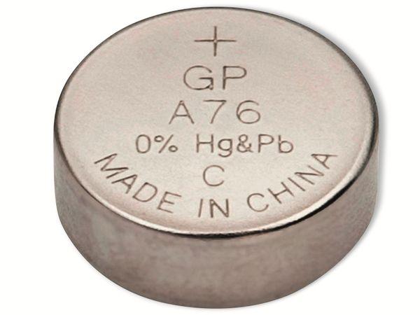 Knopfzelle GP LR44, Alkaline, 1,5 V-, 10 Stück - Produktbild 2