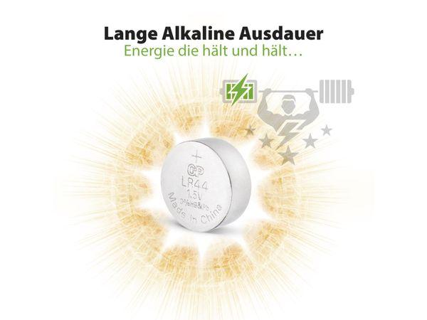 Knopfzelle GP LR44, Alkaline, 1,5 V-, 10 Stück - Produktbild 6