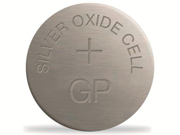 Knopfzelle GP SR44 / 357F, 1,55V, Silberoxid