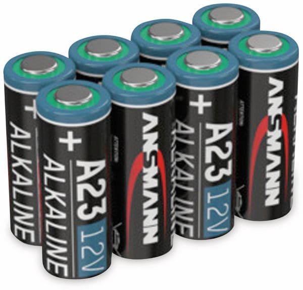 8er Set 12V Alkaline-Batterie ANSMANN A23 / LR23 - Produktbild 2