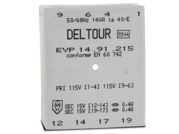 Printtrafo DELTOUR EYP14.91.215 - Produktbild 1