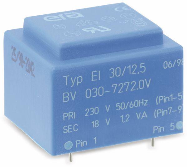 Printtrafo ERA EI30/12.5, 18 V, 1,2 VA
