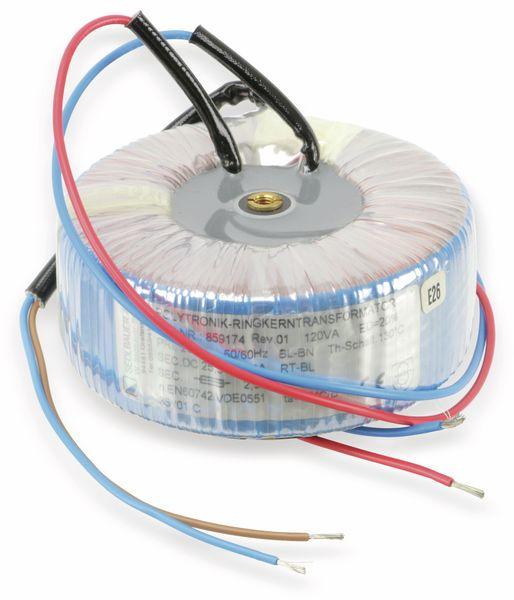 Ringkern-Netztransformator SEDLBAUER POLYTRONIK 859174, 25,5 V/2,33 A - Produktbild 1