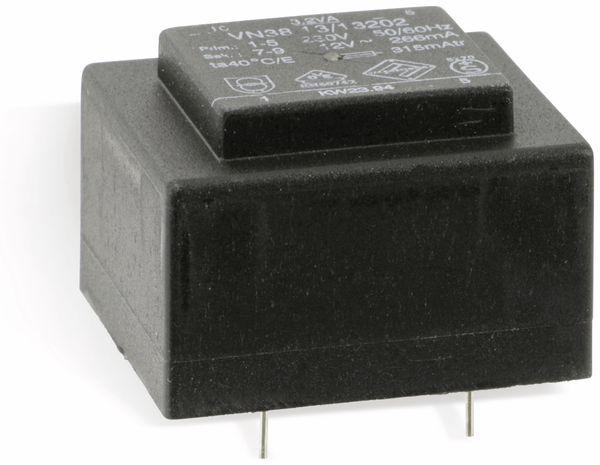 Printtrafo MARSCHNER V38.13/13202, 12 V, 266 mA - Produktbild 1
