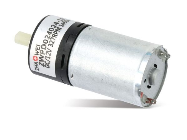DC-Getriebemotor ZHAOWEI ZWPD024024-36-P, 12 V-, 135 U/min - Produktbild 1