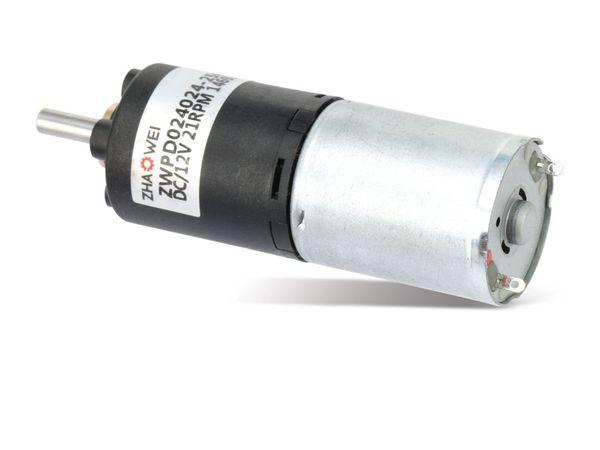 DC-Getriebemotor ZHAOWEI ZWPD024024-256-H, 12 V-, 16 U/min